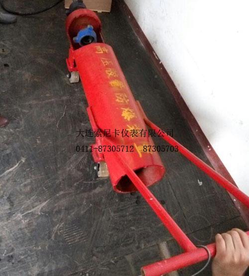 高压电磁流量计高压胶管防爆装置